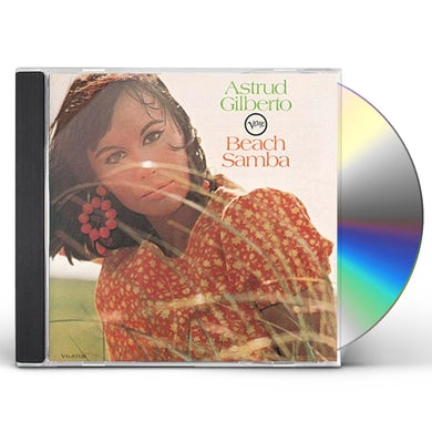 Astrud Gilberto BEACH SAMBA CD