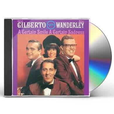 Astrud Gilberto CERTAIN SMILE A CERTAIN SADNESS CD