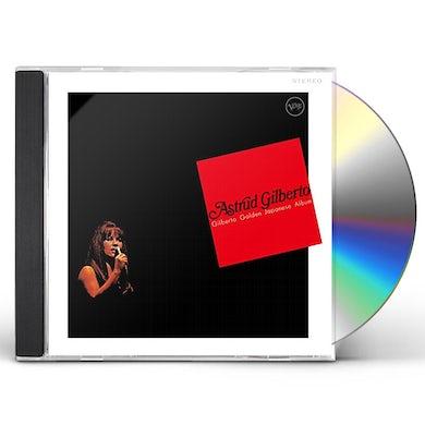 Astrud Gilberto GILBERTO GOLDEN JAPANESE ALBUM CD