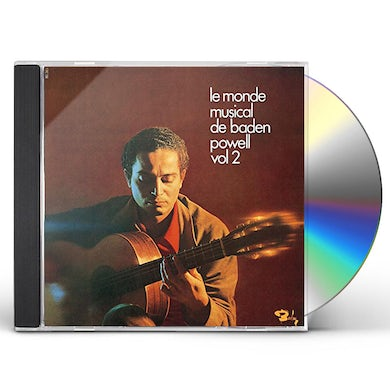 LE MONDE MUSICAL DE BADEN POWELL VOL 2 CD