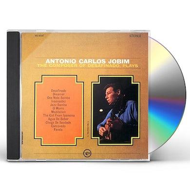Antonio Carlos Jobim COMPOSER OF DESAFINADO PLAYS CD