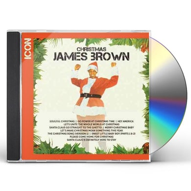 James Brown ICON CHRISTMAS CD