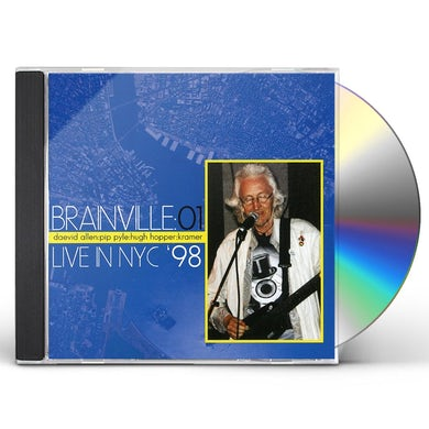 Daevid Allen BRAINVILLE AT THE KNITTING CD