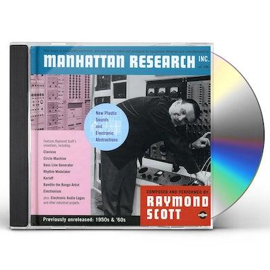 Raymond Scott MANHATTAN RESEARCH INC CD