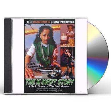 DJ K-Swift CLUB QUEEN K-SWIFT STORY CD
