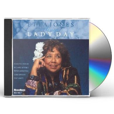ETTA JONES SINGS LADY DAY CD