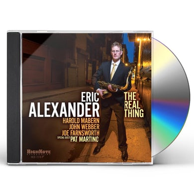 Eric Alexander REAL THING CD