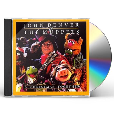 John Denver & Muppets CHRISTMAS TOGETHER CD