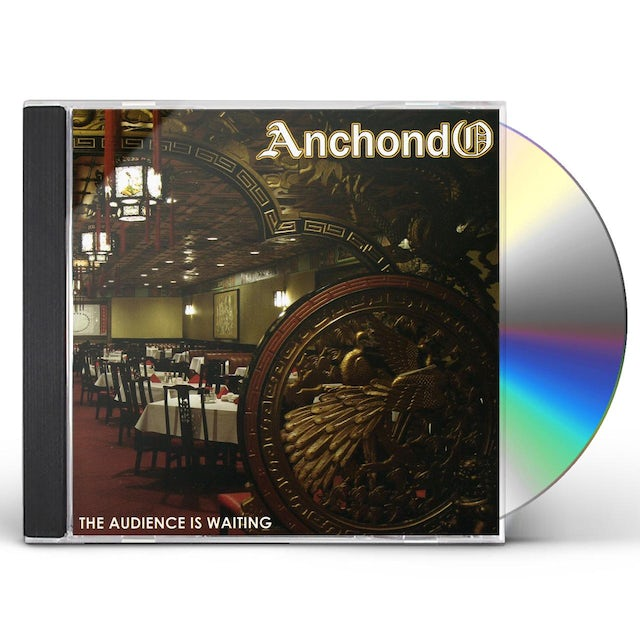 Anchondo AUDIENCE IS WAITING CD