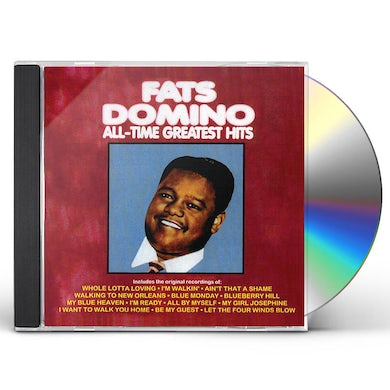 Fats Domino ALL TIME GREATEST HITS CD