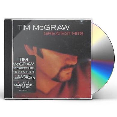 Tim McGraw GREATEST HITS CD