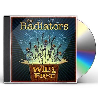 Radiators WILD & FREE CD