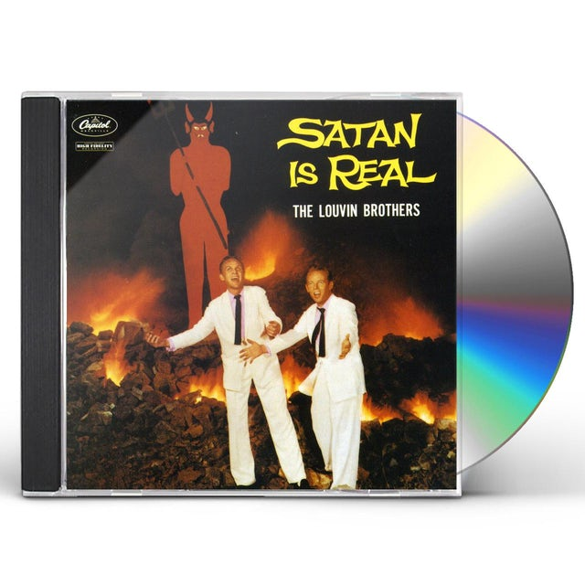 Louvin Brothers SATAN IS REAL CD