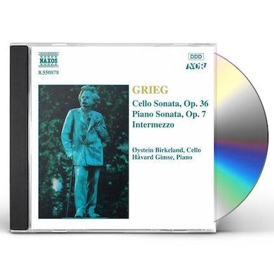 Grieg CELLO SNTAS CD