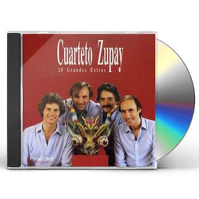 Cuarteto Zupay 20 GRANDES EXITOS CD