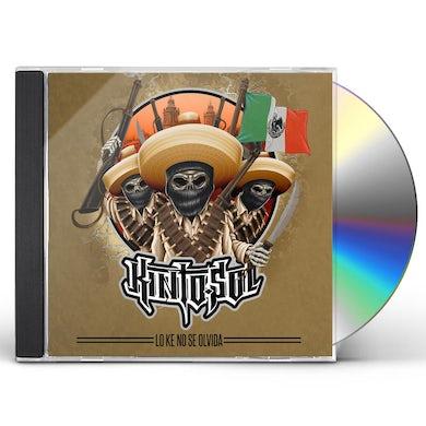Kinto Sol LO KE NO SE OLVIDA CD