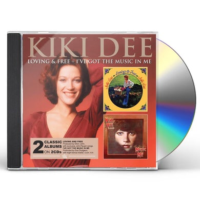 Kiki Dee LOVING & FREE / I'VE GOT THE MUSIC IN CD