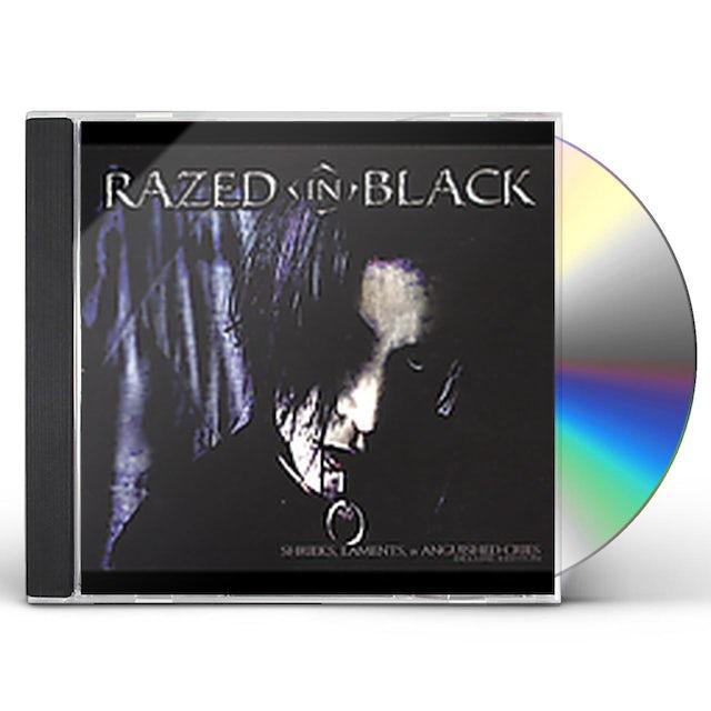 Razed In Black SHRIEKS LAMENTS & ANGUISHED CRIES CD