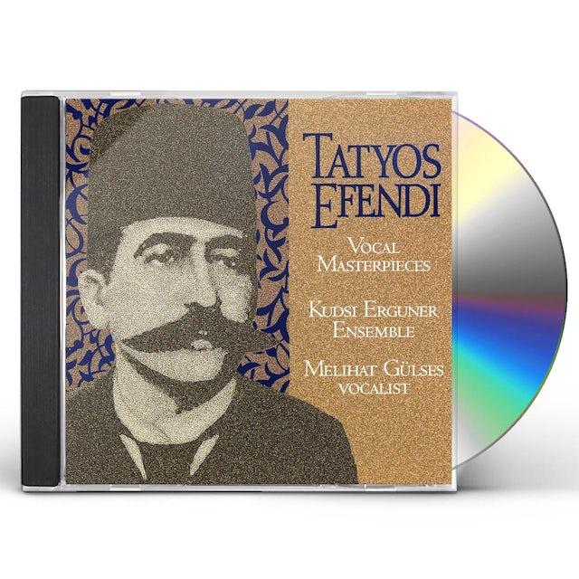 Kudsi Erguner VOCAL MASTERPIECES OF KEMANI TATYOS EFENDI CD