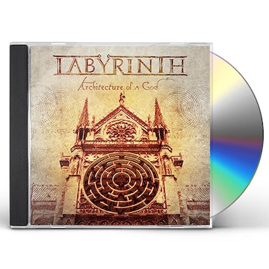 Labyrinth ARCHITECTURE OF A GOD CD