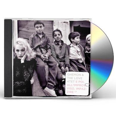 Ghemon E POI ALL IMPROVVISO IMPAZZIRE CD