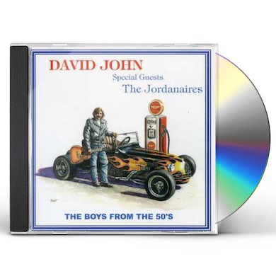 David John BOYS FROM THE 50'S CD