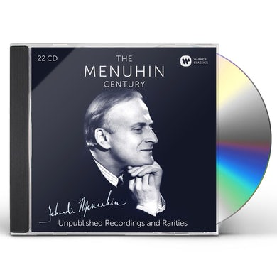Yehudi Menuhin MENUHIN CENTURY-UNPUBLISHED RECORDINGS & RARITIES CD