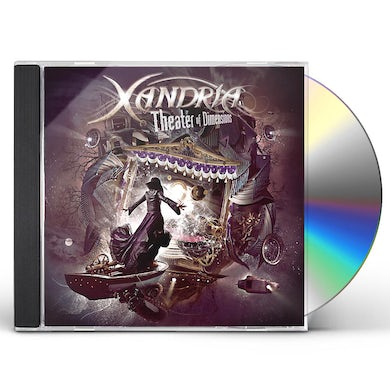 Xandria THEATER OF DIMENSIONS CD