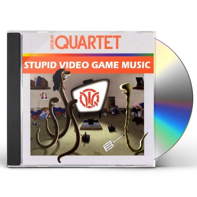 Worm Quartet STUPID VIDEO GAME MUSIC CD