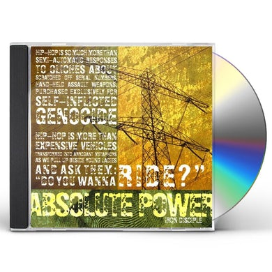 Absolute Power IRON DISCIPLE CD