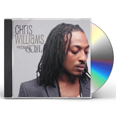 Chris Williams VINTAGE SOUL CD
