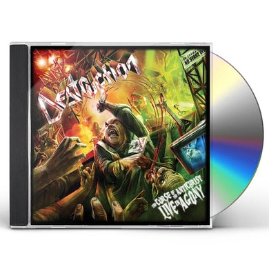 Destruction CURSE OF THE ANTICHRIST: LIVE IN AGONY CD
