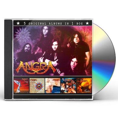Angra 5 ORIGINAL ALBUMS IN 1 BOX CD