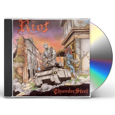 Riot THUNDERSTEEL CD