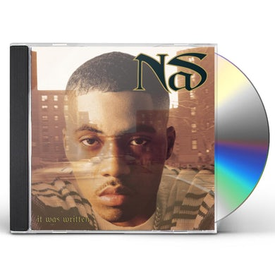 Nas IT WAS WRITTEN CD