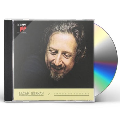 Lazar Berman COMPLETE CBS RECORDINGS CD