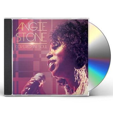 Angie Stone COVERED IN SOUL CD
