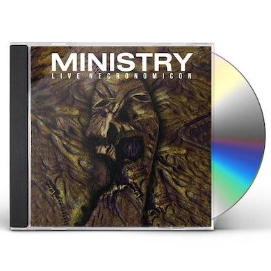 Ministry LIVE NECRONOMICON CD