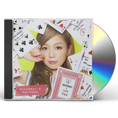 Kana Nishino REASONS I LOVE YOU CD