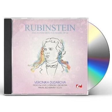 Rubinstein VIOLIN CONCERTO IN G MAJOR 46 CD