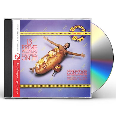 Swamp Dogg 13 PRIME WEINERS - EVERYTHING ON IT: BEST OF SWAMP CD