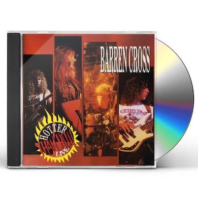 Barren Cross HOTTER THAN HELL LIVE CD