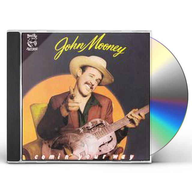 John Mooney COMIN YOUR WAY CD
