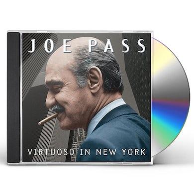 Joe Pass VIRTUOSO IN NEW YORK CD