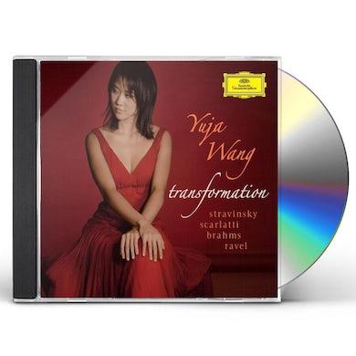 Yuja Wang TRANSFORMATION: STRAVINSKY / SCARLATTI / BRAHMS CD