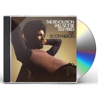 Gil Scott-Heron REVOLUTION WILL NOT BE TELEVISED CD