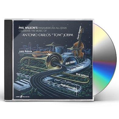 Phil Wilson MUSIC OF ANTONIO CARLOS JOBIM CD