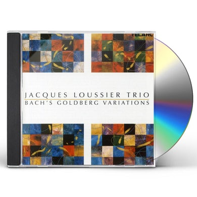 Jacques Loussier BACH'S GOLDBERG VARIATIONS CD