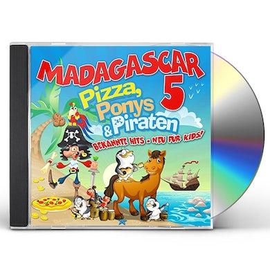 Madagascar 5 PIZZA PONYS & PIRATEN CD