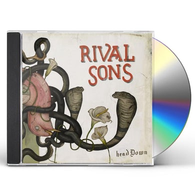 Rival Sons HEAD DOWN: DELUXE CD